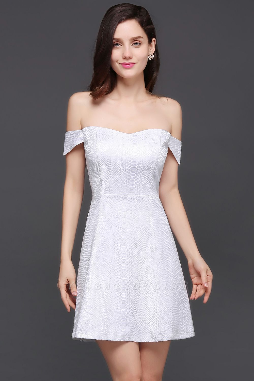 Special In-Stock Occasion New Off-Shoulder Women Short A-Line Evening Dresses