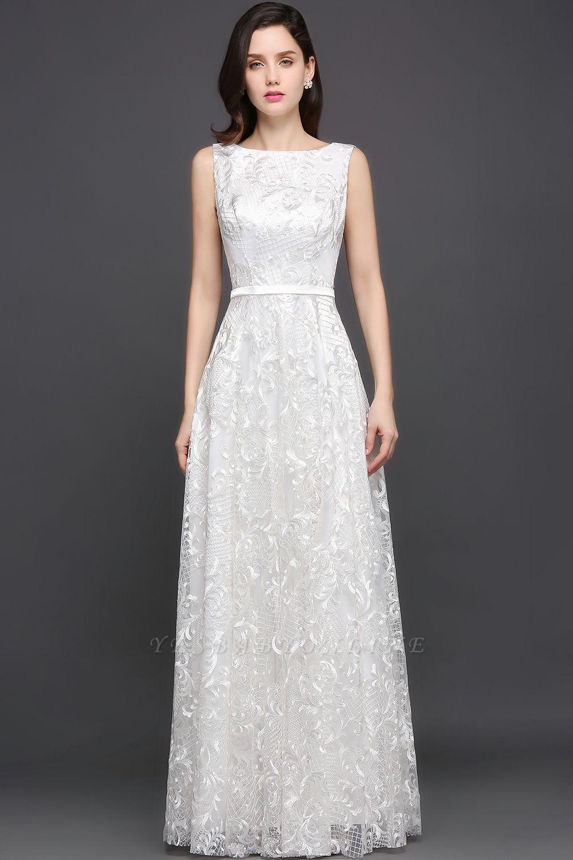 AVIANA | A-line Scoop Lace Elegant Evening Dress