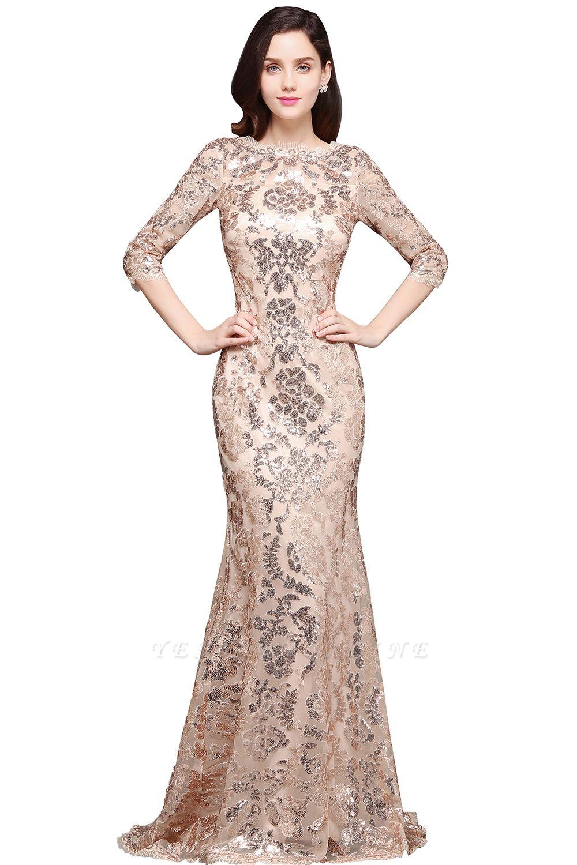AVERI | Mermaid Scoop Sequins Gorgeous Prom Dress