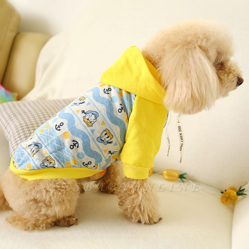 Short Sleeve Hoody Pet T Shirt | Coverved Belly Dog Cloth