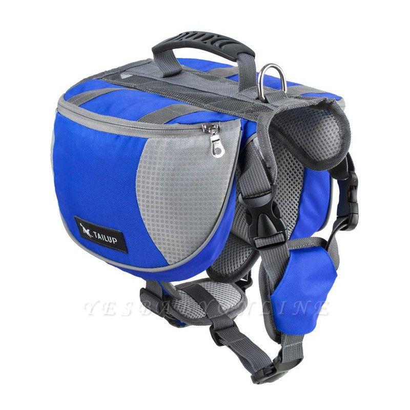 Dog Harness Bag Pack Travel Hiking Backpack for Medium & Large Dogs