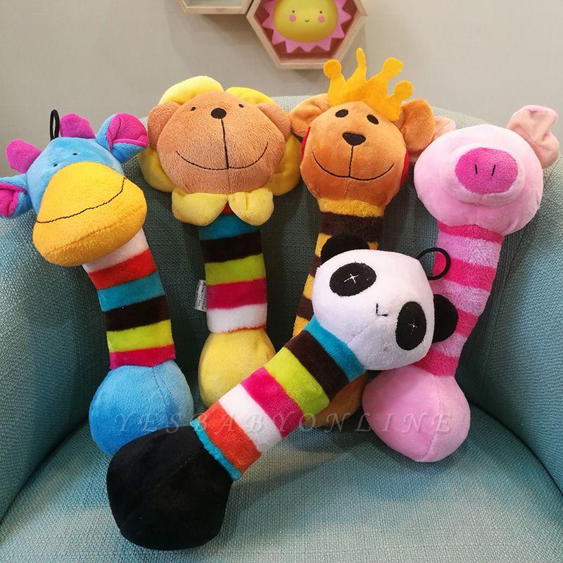 Panda Cartoon Plush Vocal Dog Toys