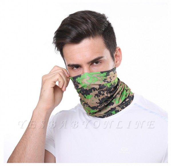 Men's Military Camo Cooling Neck Gaiters