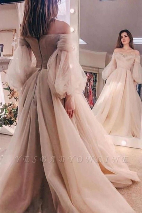 Princess Off The Shoulder Sweetheart Ball Gown Wedding Dresses