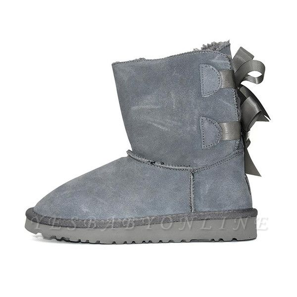 sexy Black Women Snow Boot Warm Plush Ankle Shoes