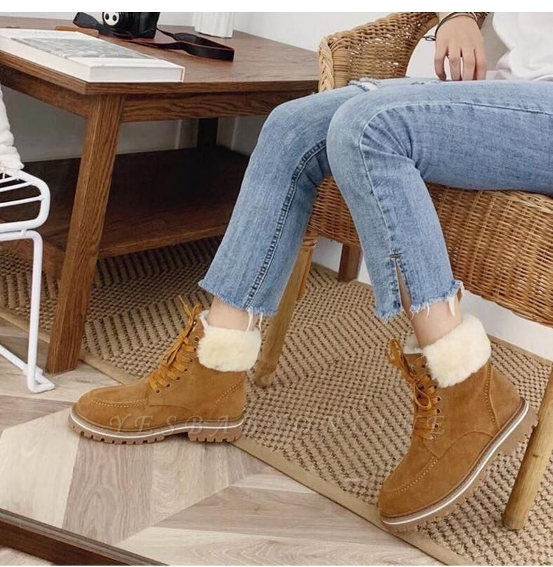 New Women Snow Boots   Waterproof Ankle Shoes