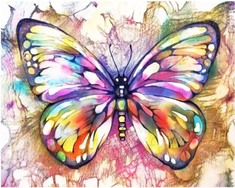 Glowing Butterfly