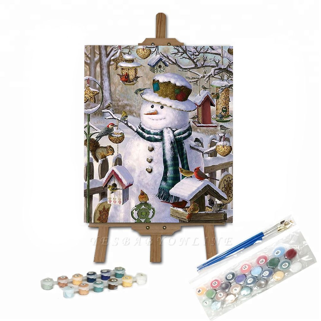 Paint By Numbers Kit-Merry Christmas