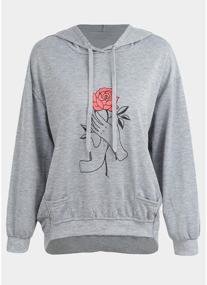 New Fashion Women Hoodie Pullover Hooded overl Loose Sweatshirts