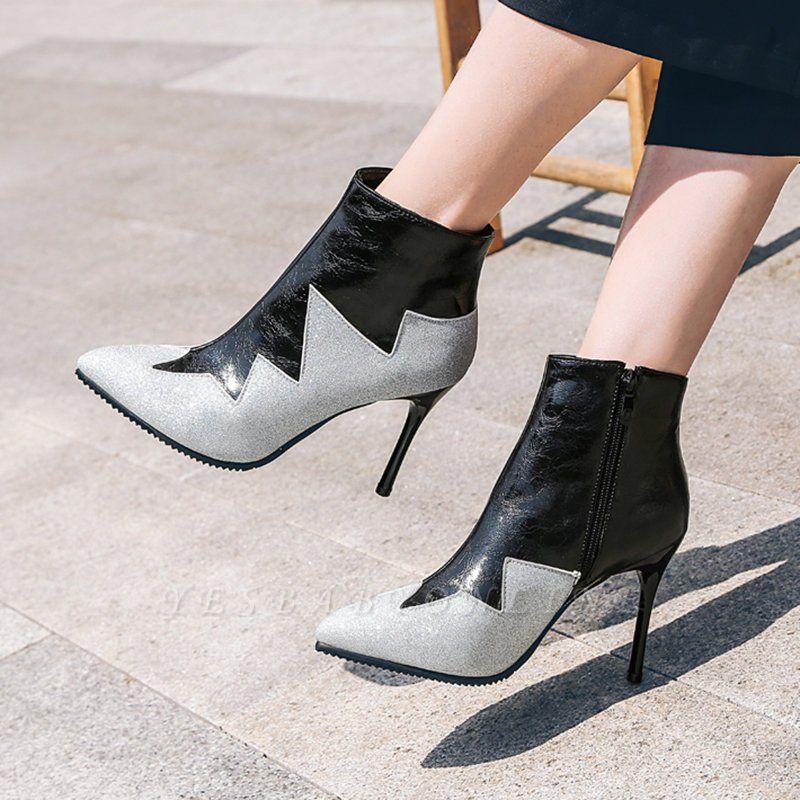 High Heel Zipper Sexy Boot