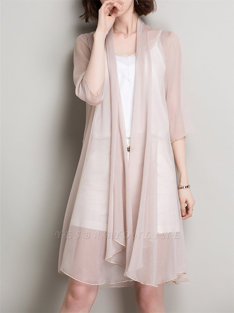 Shawl Collar Coat Swing Daytime Solid Outerwear