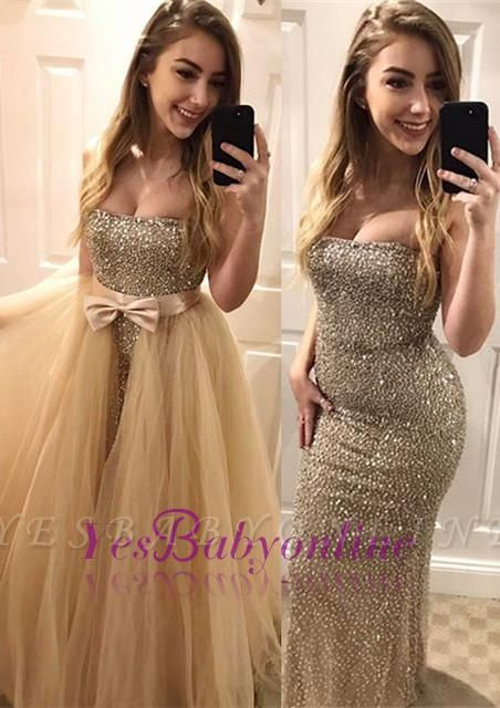 Sweetheart Gorgeous Bodycon Beads Sleeveless Evening Dress