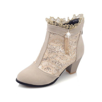 Lady Chunky Heel Boots On Sale_8