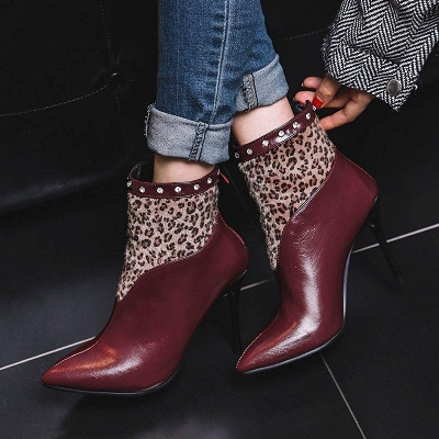 High Heel Zipper Sexy Boot On Sale_3