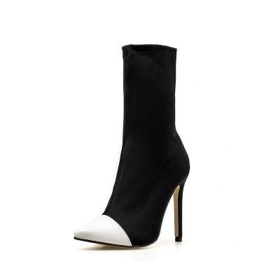 Stiletto Heel Pointed Toe Elegant Boots On Sale_7