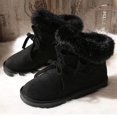 Feather Flat Heel Boot On Sale_1
