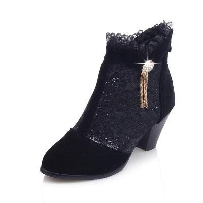 Lady Chunky Heel Boots On Sale_7
