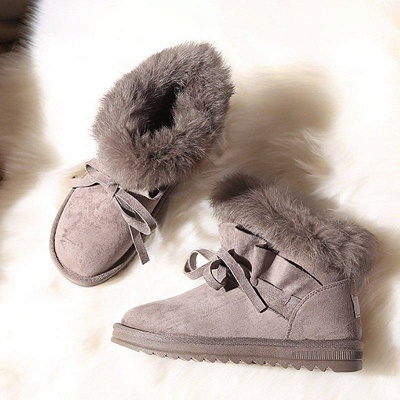 Feather Flat Heel Boot On Sale_7