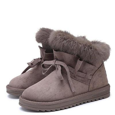 Feather Flat Heel Boot On Sale_4