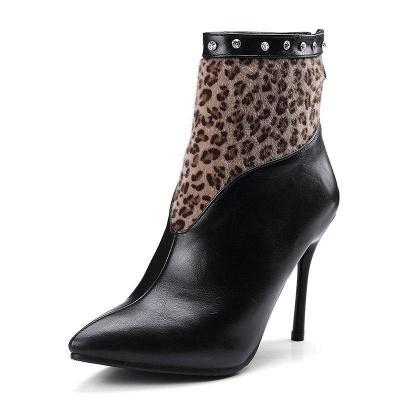 High Heel Zipper Sexy Boot On Sale_6