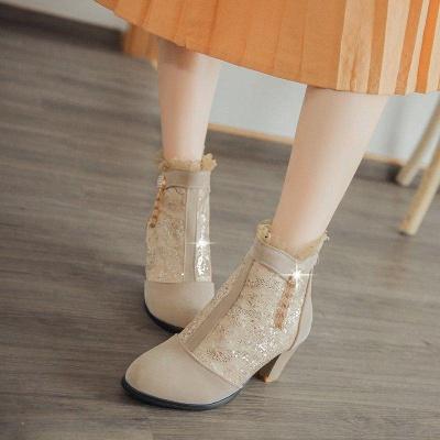 Lady Chunky Heel Boots On Sale_6