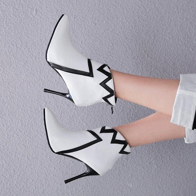 Stiletto Heel Sexy Pointed Toe Boots On Sale_4