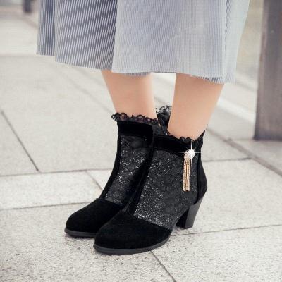 Lady Chunky Heel Boots On Sale_3