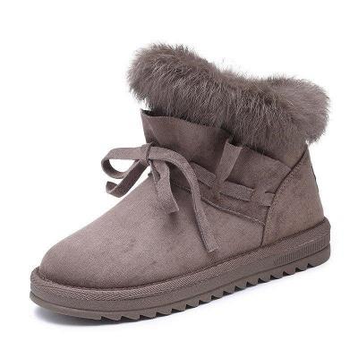 Feather Flat Heel Boot On Sale_5