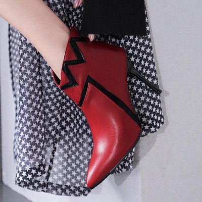 Stiletto Heel Sexy Pointed Toe Boots On Sale_8