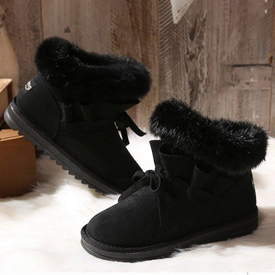 Feather Flat Heel Boot On Sale_6