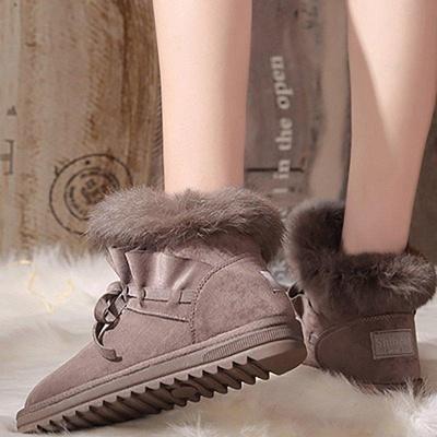 Feather Flat Heel Boot On Sale_8