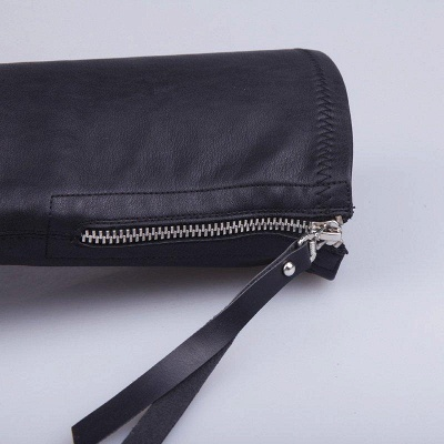 Black Fall Chunky Heel Zipper Boots On Sale_5
