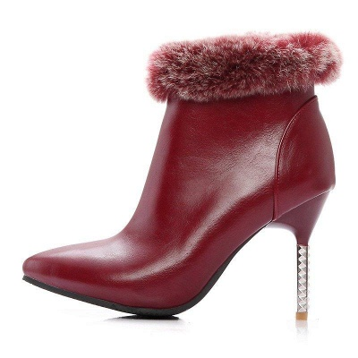 Stiletto Heel Daily Pointed Toe Suede Boots On Sale_6