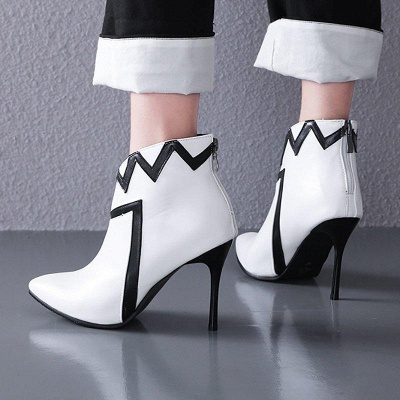 Stiletto Heel Sexy Pointed Toe Boots On Sale_6