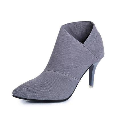 Pointed Toe Stiletto Heel Elegant Boots On Sale_1