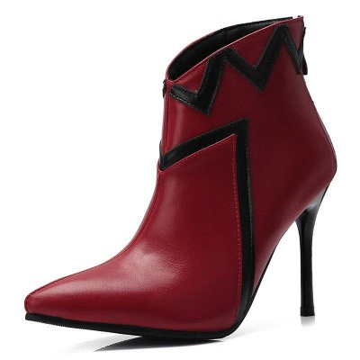 Stiletto Heel Sexy Pointed Toe Boots On Sale_2