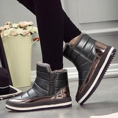 Wedge Heel Fall PU Daily Boots On Sale