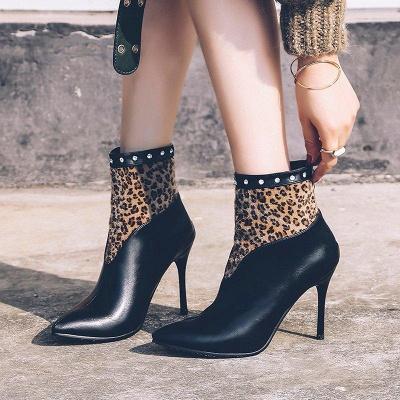 High Heel Zipper Sexy Boot On Sale_1
