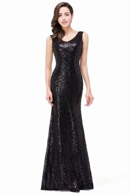 Cheap Elegant Mermaid Prom Dress Beaded Backless Evening Dress in Stock_5