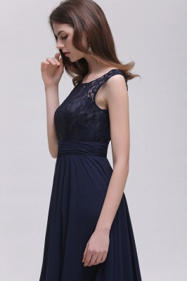 Cheap Sleeveless Lace Long Chiffon Prom Dress Online in Stock_7