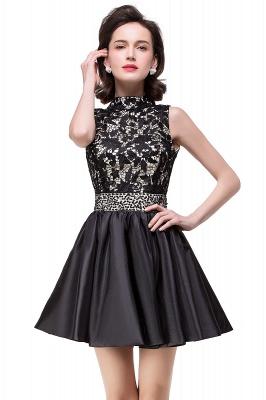 CECILIA | A-line Halter Lace Party Dress_6
