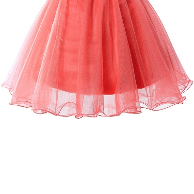 Cheap Sexy Crystal Beads Tulle Sleeveless Two-piece Short Prom Dress in Stock_7