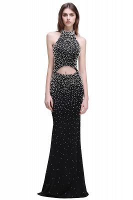 CADENCE | Mermaid Long Black Luxury Prom Dresses with Beading_2