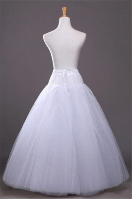 Cheap A-line Tulle Taffeta Wedding Petticoat_3