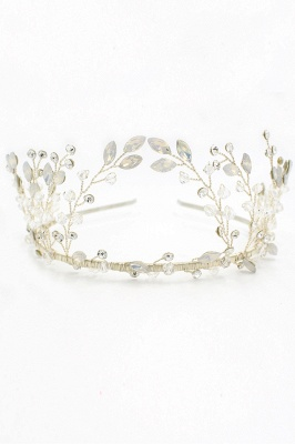 glamourous Alloy&Rhinestone Special Occasion &Wedding Hairpins Headpiece with Crystal_12