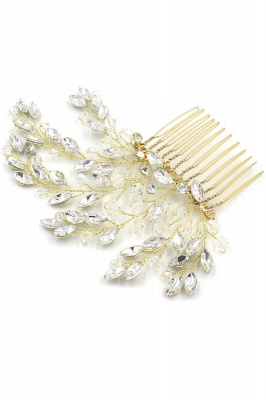 glamourous Alloy Party Combs-Barrettes Headpiece with Crystal_10