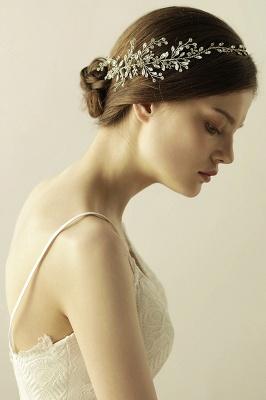Elegant Alloy&Rhinestone  Special Occasion &Wedding Headbands Headpiece with Crystal_8