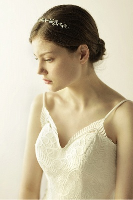 Elegant Alloy&Rhinestone  Special Occasion &Wedding Headbands Headpiece with Crystal_9