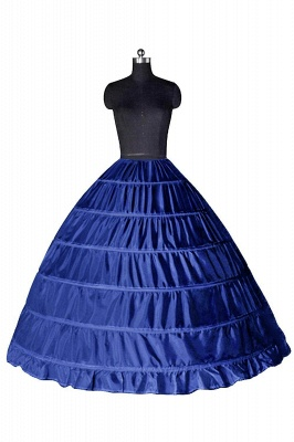 Colorful Taffeta Ball Gown Party Petticoats_7