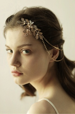 Lovely Alloy&Rhinestone Party Combs-Barrettes Headpiece with Imitation Pearls_4